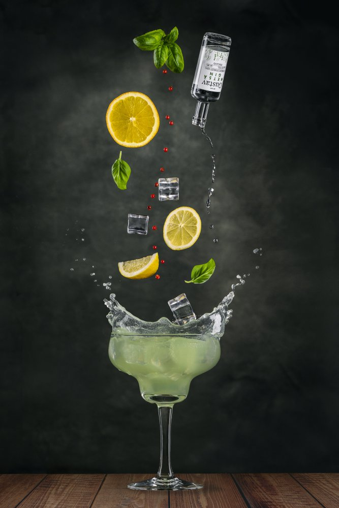 View this piece of fine art photography titled Gin Cocktail by Marc Sabat