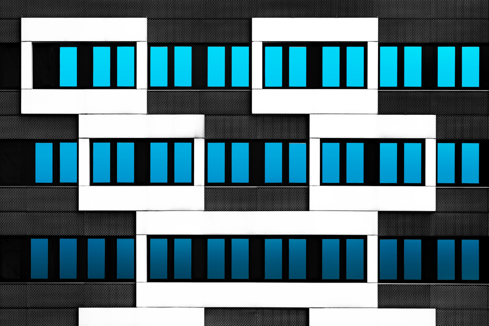View this piece of fine art photography titled White Frames by Jef Van den Houte