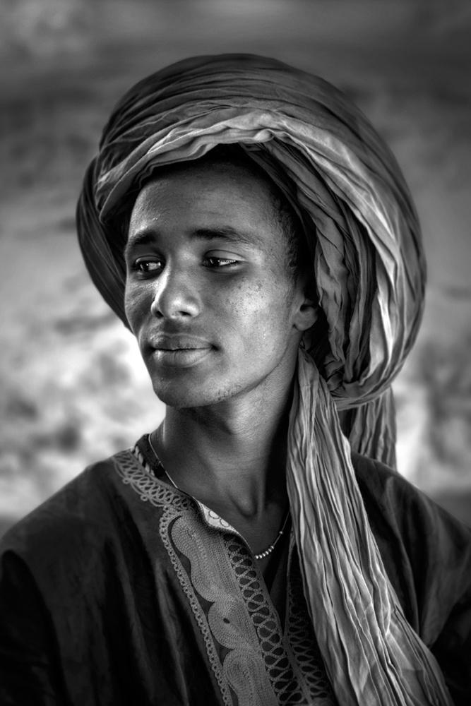 A piece of fine art art photography titled Desert Prince by Norbert Becke