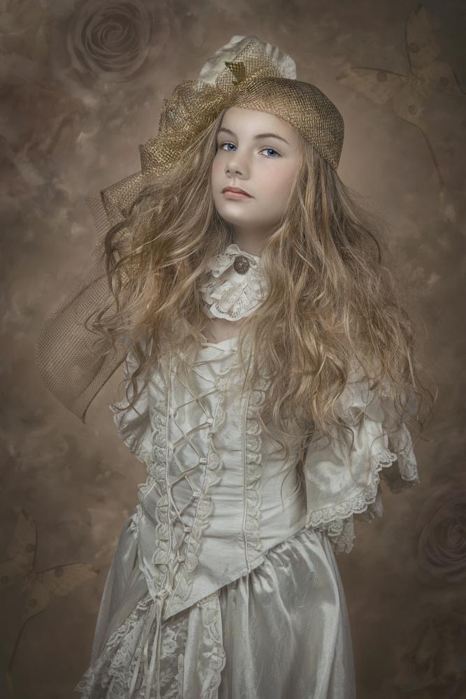 A piece of fine art art photography titled Lovely Girl by Carola Kayen-Mouthaan