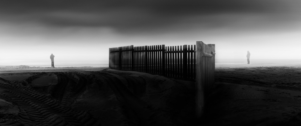 A piece of fine art art photography titled Great Distances by Paulo Abrantes