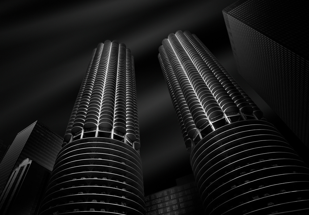 View this piece of fine art photography titled Marina City by milan malovrh