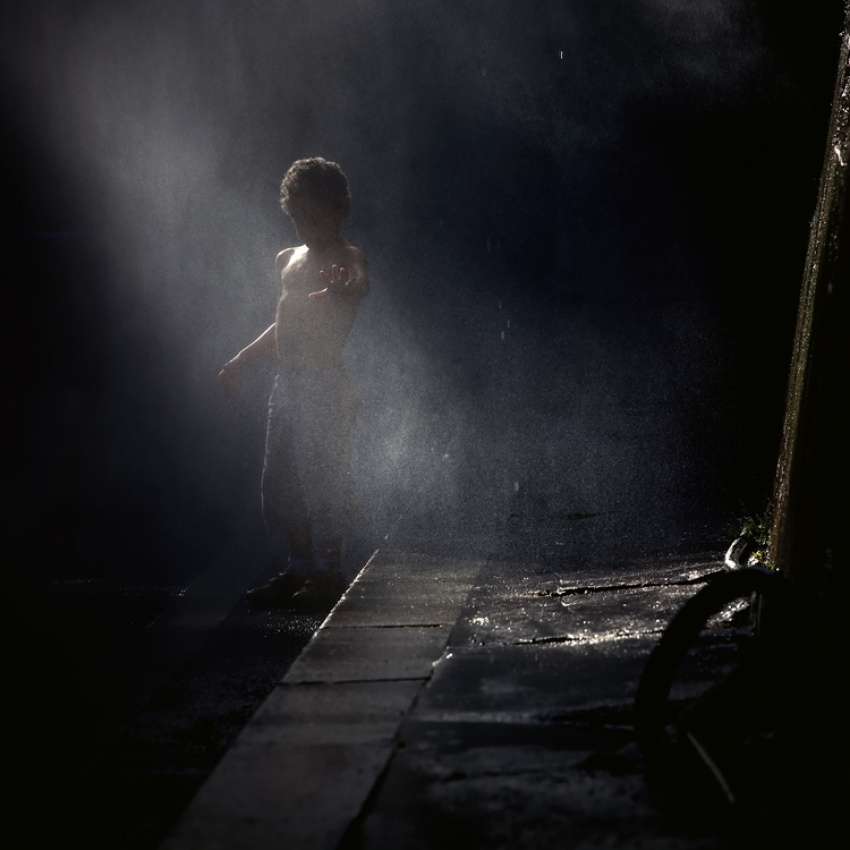 A piece of fine art art photography titled The Shadow by Aldeia David