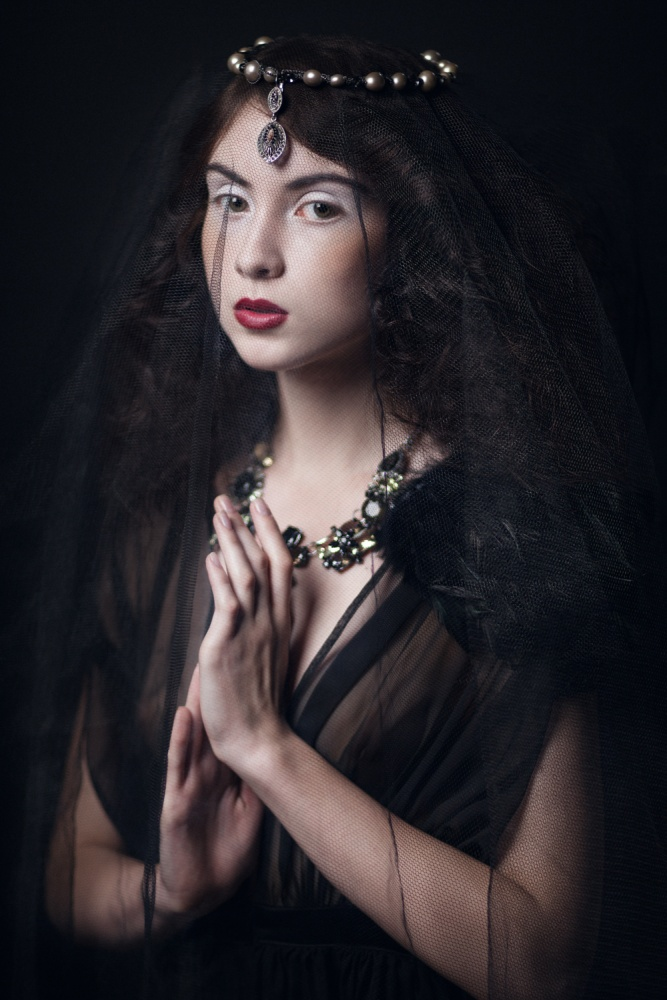 A piece of fine art art photography titled Nastya by Angelika Dev