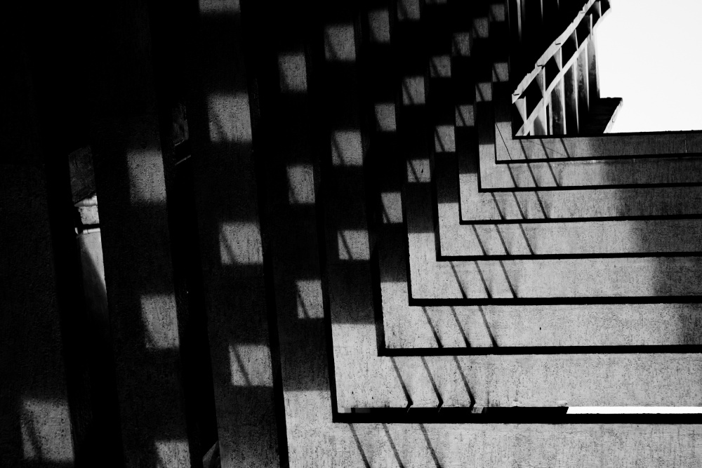 A piece of fine art art photography titled Play of Shadows by Adarsh Murthy