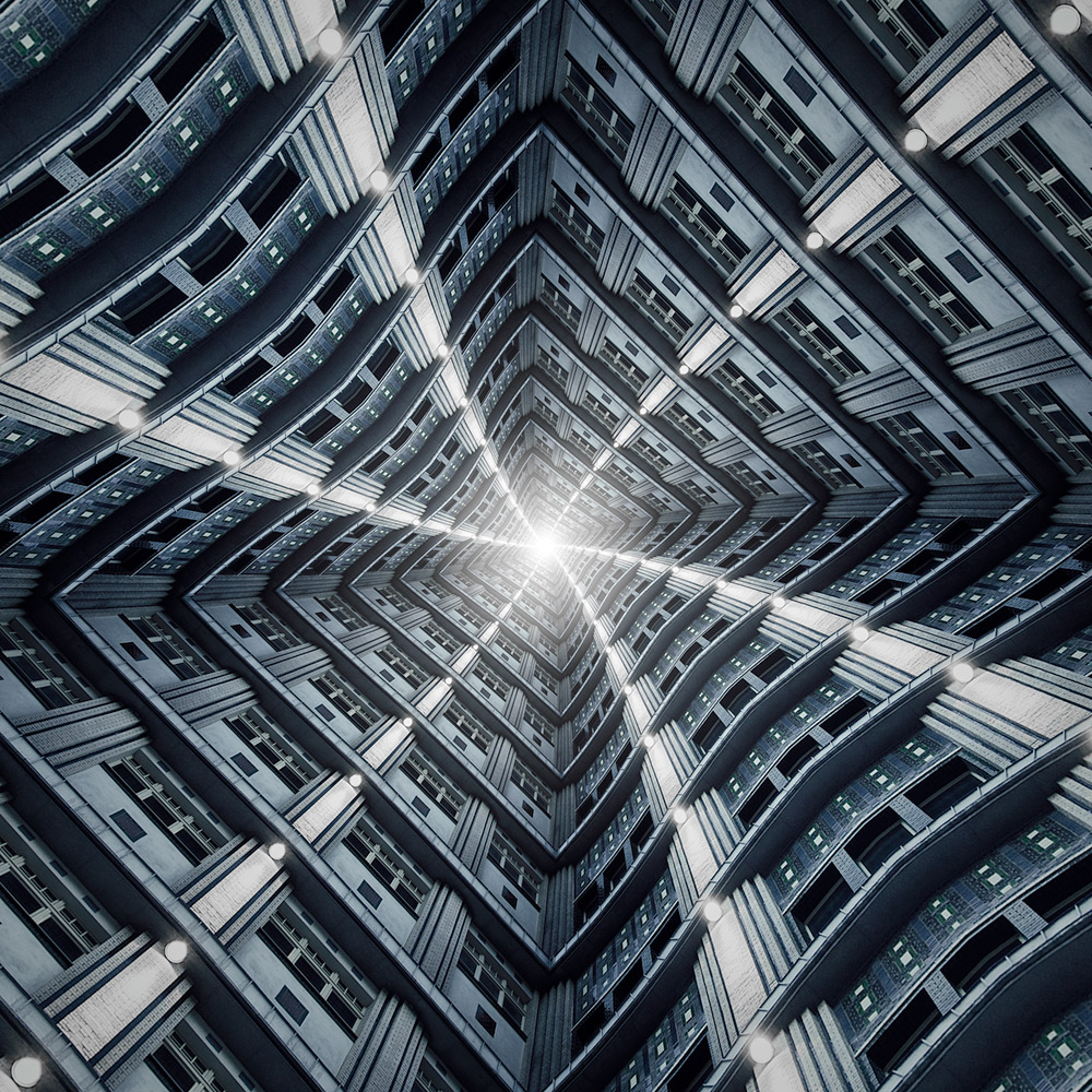 A piece of fine art art photography titled Vertigo by Markus Studtmann