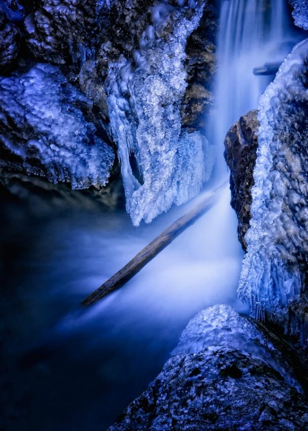 A piece of fine art art photography titled Winter by Norbert Maier