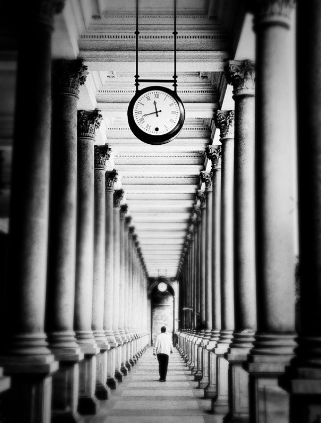 A piece of fine art art photography titled Time Has Gone by photobig