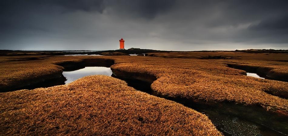 A piece of fine art art photography titled The Lighthouse by Raymond Hoffmann