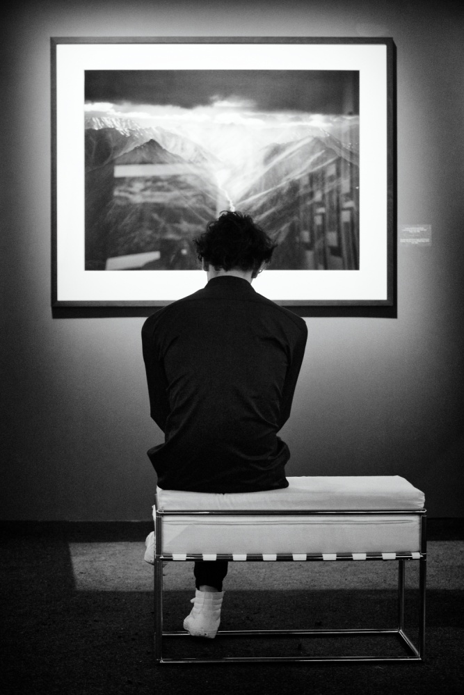 A piece of fine art art photography titled Contemplative by Carlo Navarra