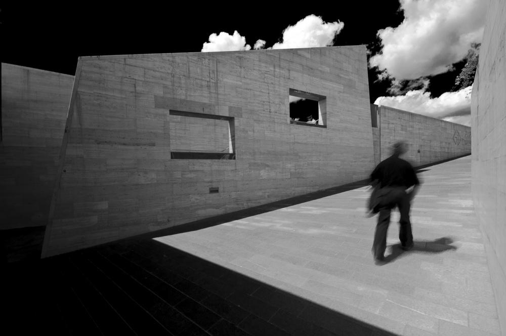 A piece of fine art art photography titled City Walk by Rafael Kos