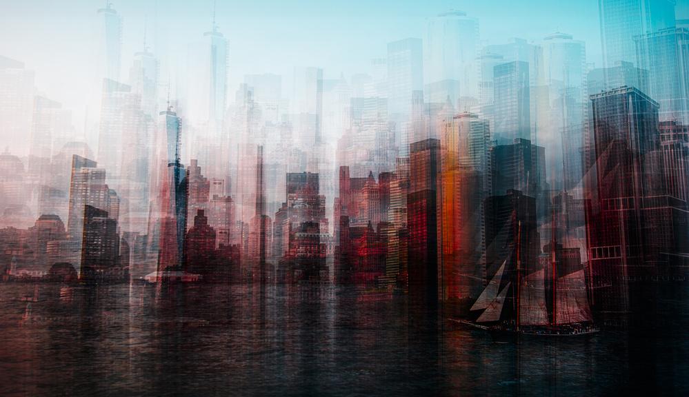 A piece of fine art art photography titled Manhattan by Carmine Chiriaco