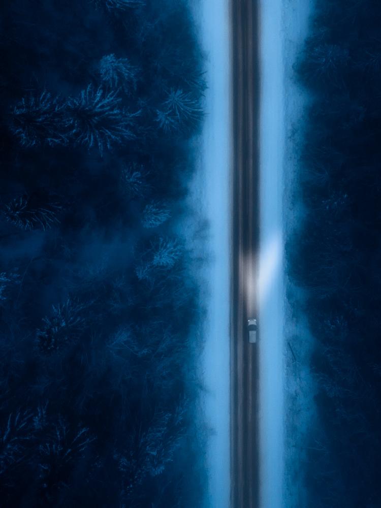nightly road