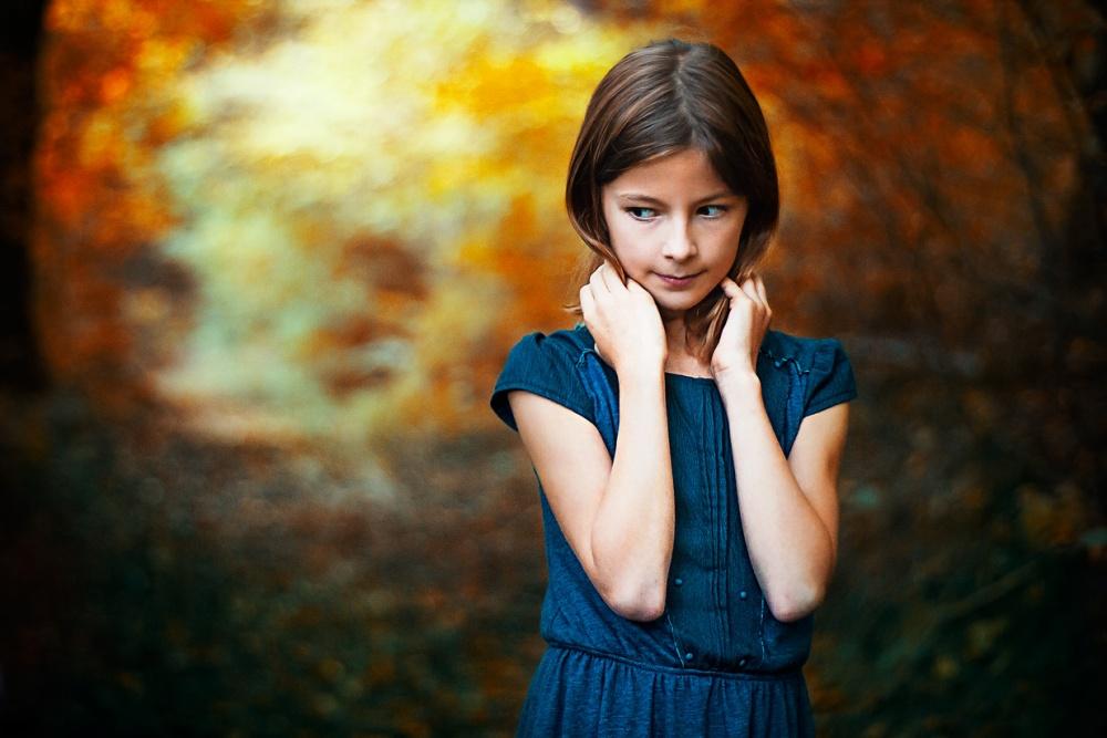A piece of fine art art photography titled Tina by slavka miklosova