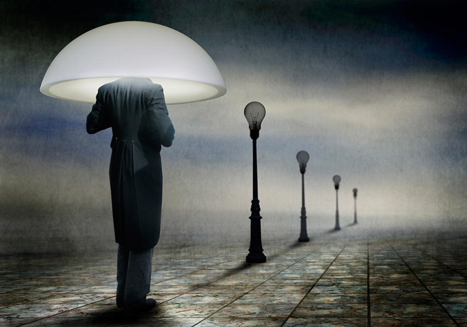 A piece of fine art art photography titled May the Light Shine Bright In 2013 by Ben Goossens