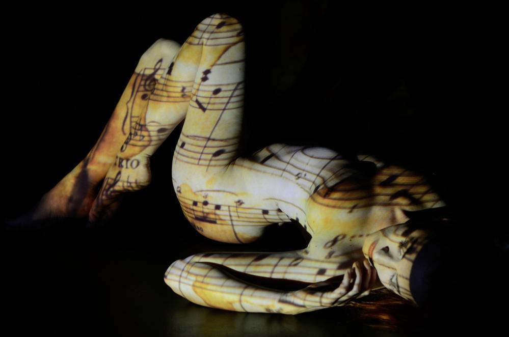 A piece of fine art art photography titled I Like Chopin by Marek Juras