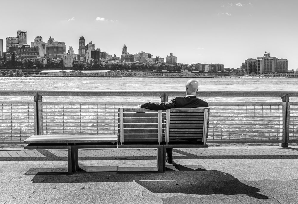 A piece of fine art art photography titled An Englishman In NY by Eddy Verloes