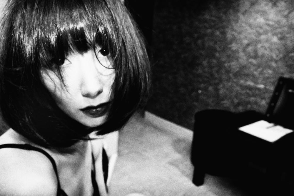 A piece of fine art art photography titled Naoko by Tatsuo Suzuki