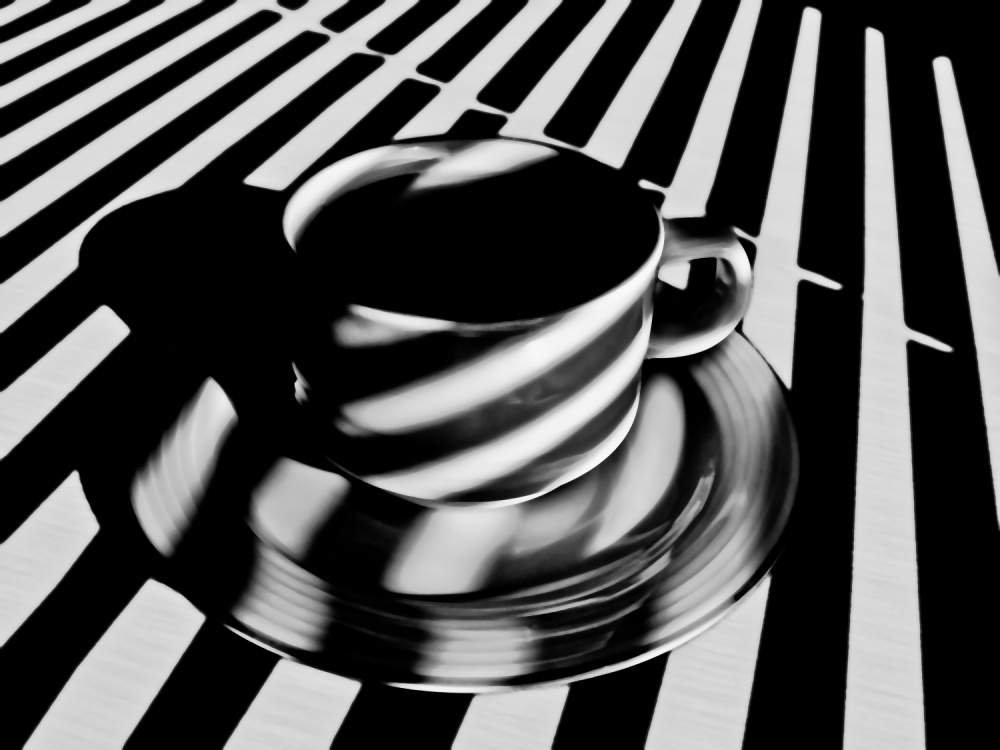 A piece of fine art art photography titled Stripped Tea ! by A-Abbasi