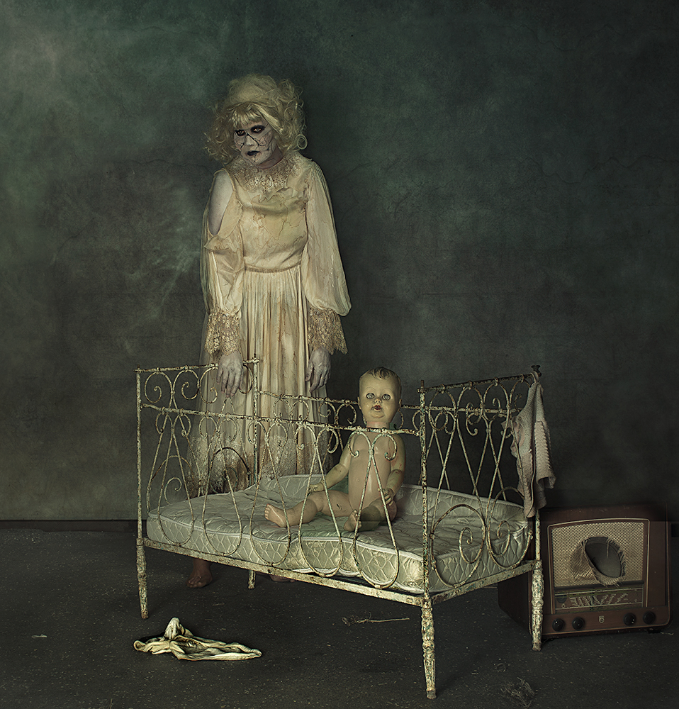 A piece of fine art art photography titled Doll by Peter Kemp