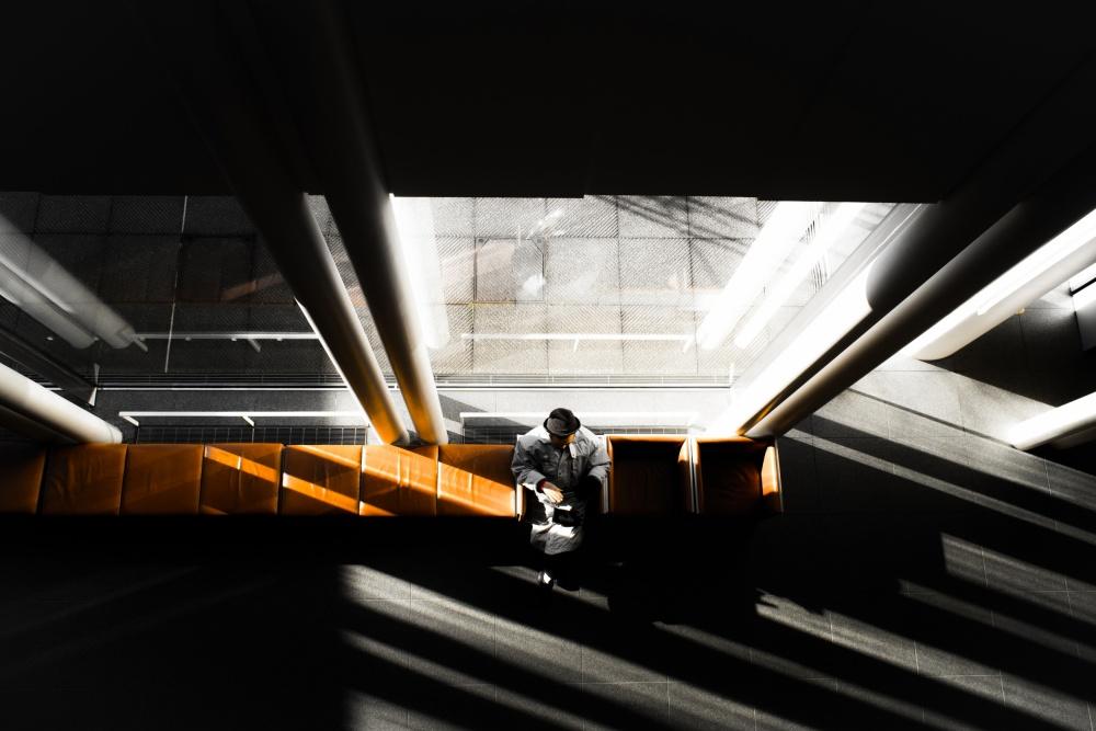 A piece of fine art art photography titled Untitled by tadashi onishi