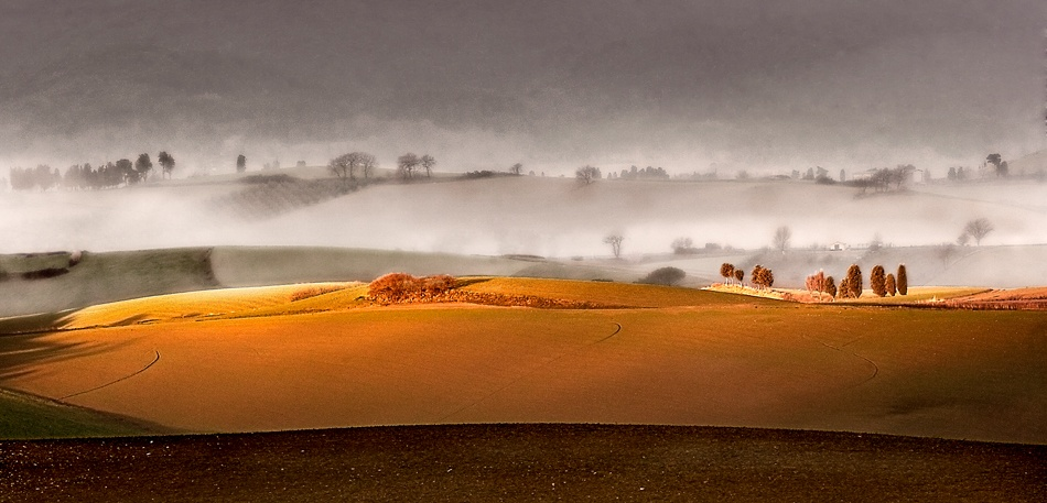 A piece of fine art art photography titled From Tuscany Lands by andrea lorenzetti