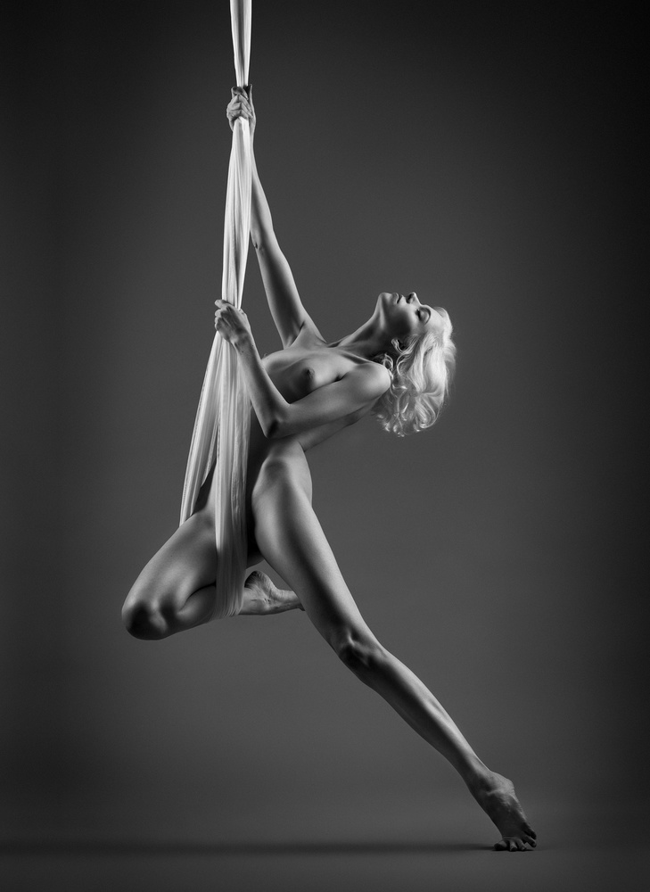 A piece of fine art art photography titled Dance by Bruno Birkhofer