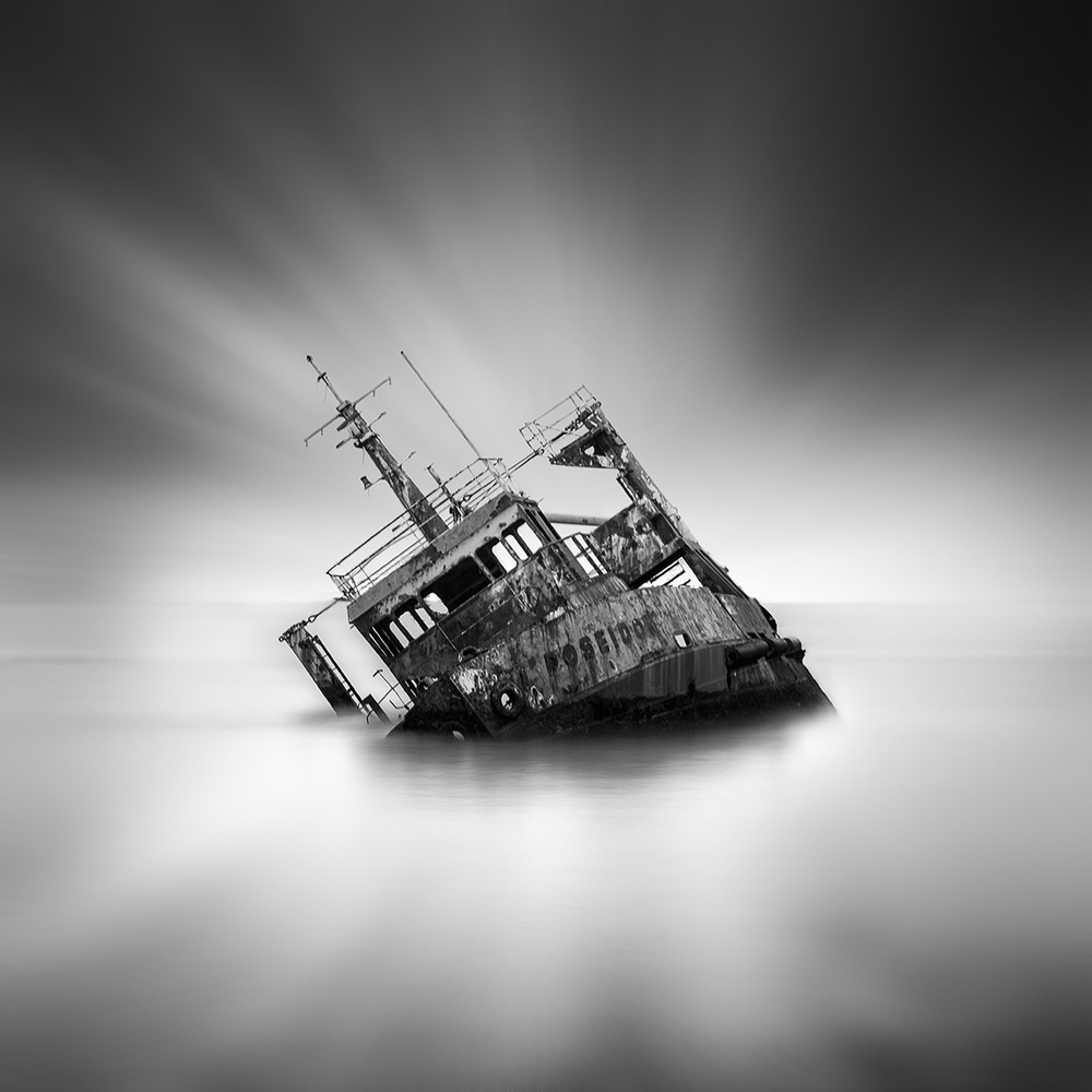 A piece of fine art art photography titled Poseidon by George Digalakis