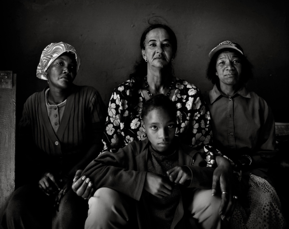 A piece of fine art art photography titled Women of Johnson's Post by Andre du Plessis FRPS