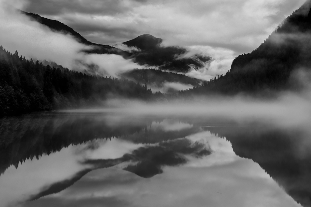 Dawn at Diablo Lake