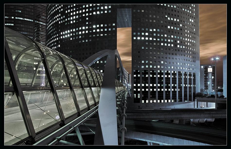 A piece of fine art art photography titled Modern City by Jens Kling