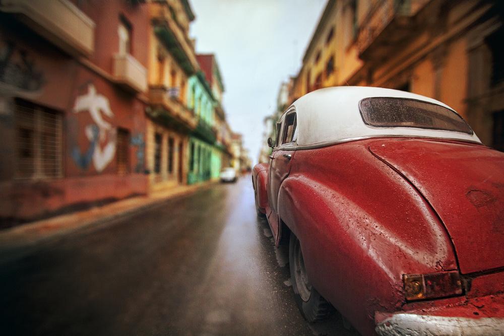 A piece of fine art art photography titled Cuba Street Car by Svetlin Yosifov