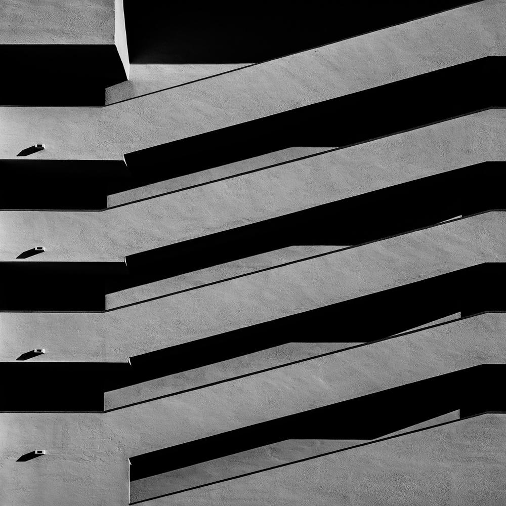 Exterior staircase Peniscola
