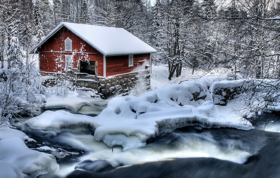 A piece of fine art art photography titled The Mill by Jari Nupponen
