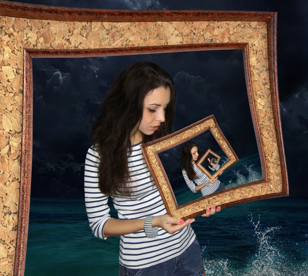 A piece of fine art art photography titled Frame  by Iryna Kuznetsova (Iridi)