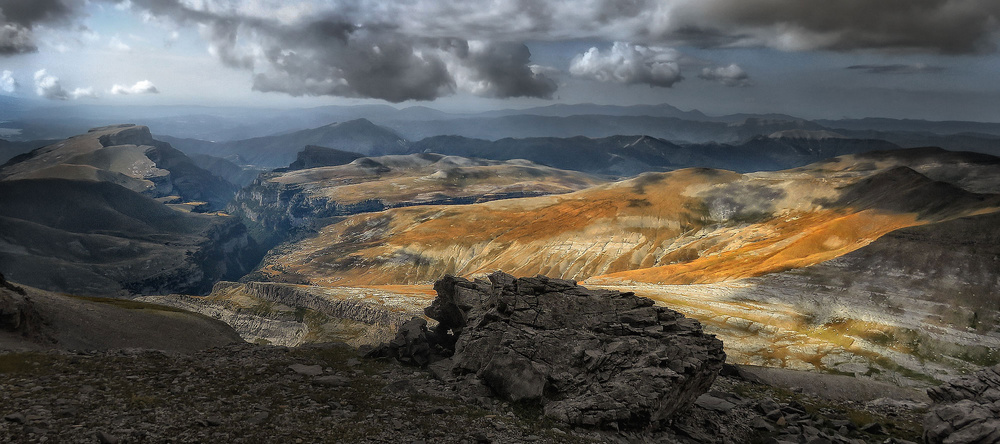 A piece of fine art art photography titled Pyrenees by Amador Funes