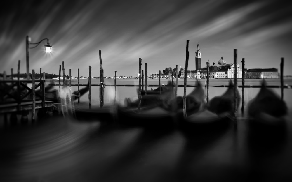 A piece of fine art art photography titled Venice by aRRO