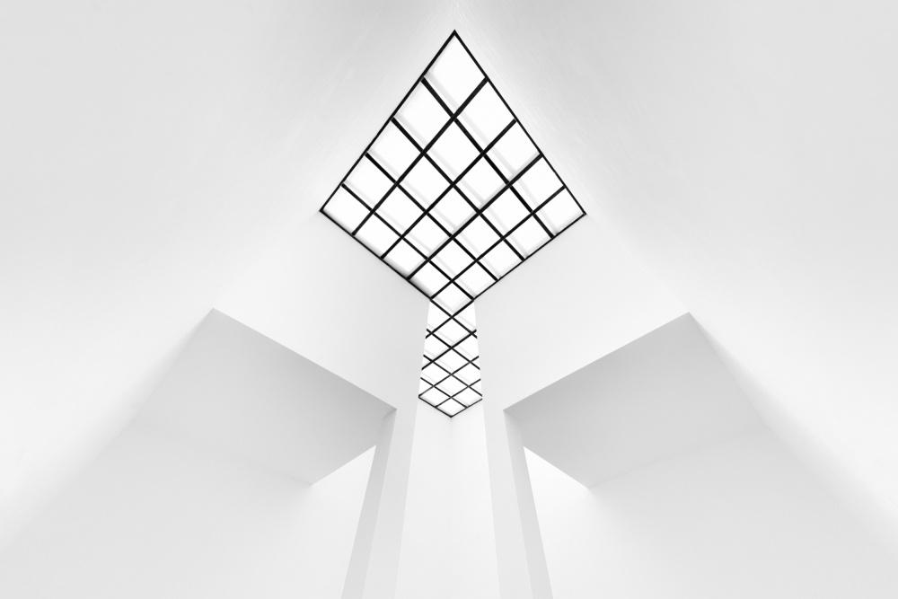 A piece of fine art art photography titled The Arrow by Jeroen van de Wiel