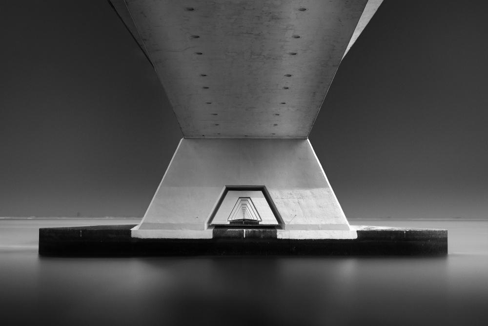 A piece of fine art art photography titled Look Through by carsten Velten