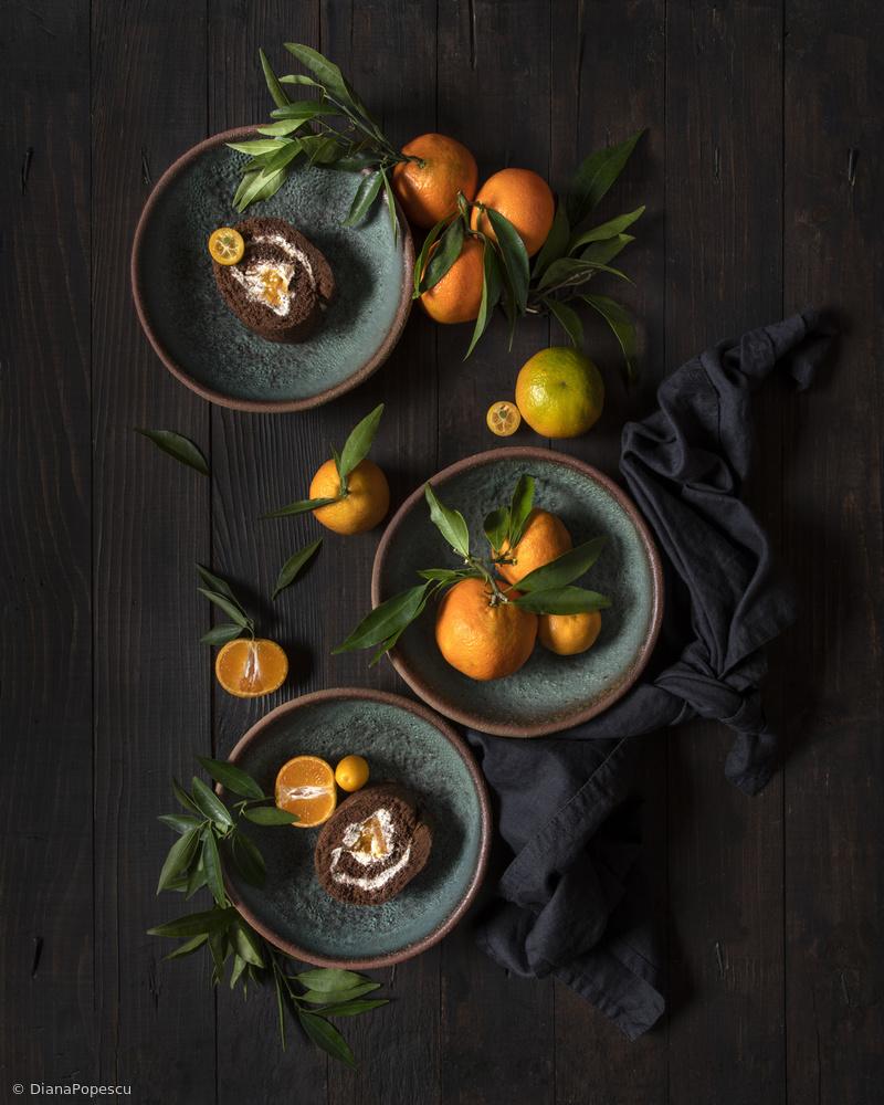 View this piece of fine art photography titled Mandarine chocolate roll by Pedro Uranga