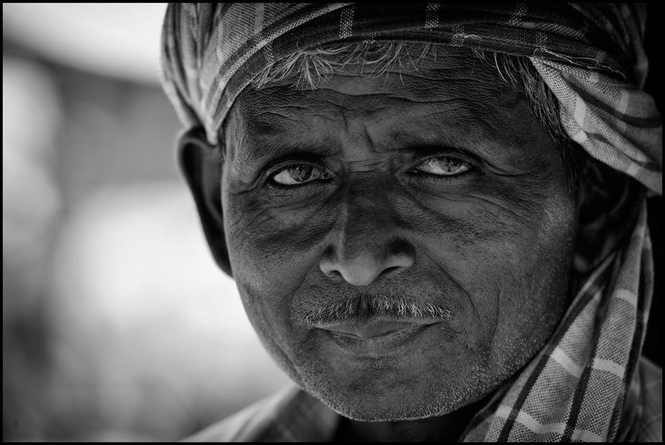 A piece of fine art art photography titled Trishaw Man by Robert