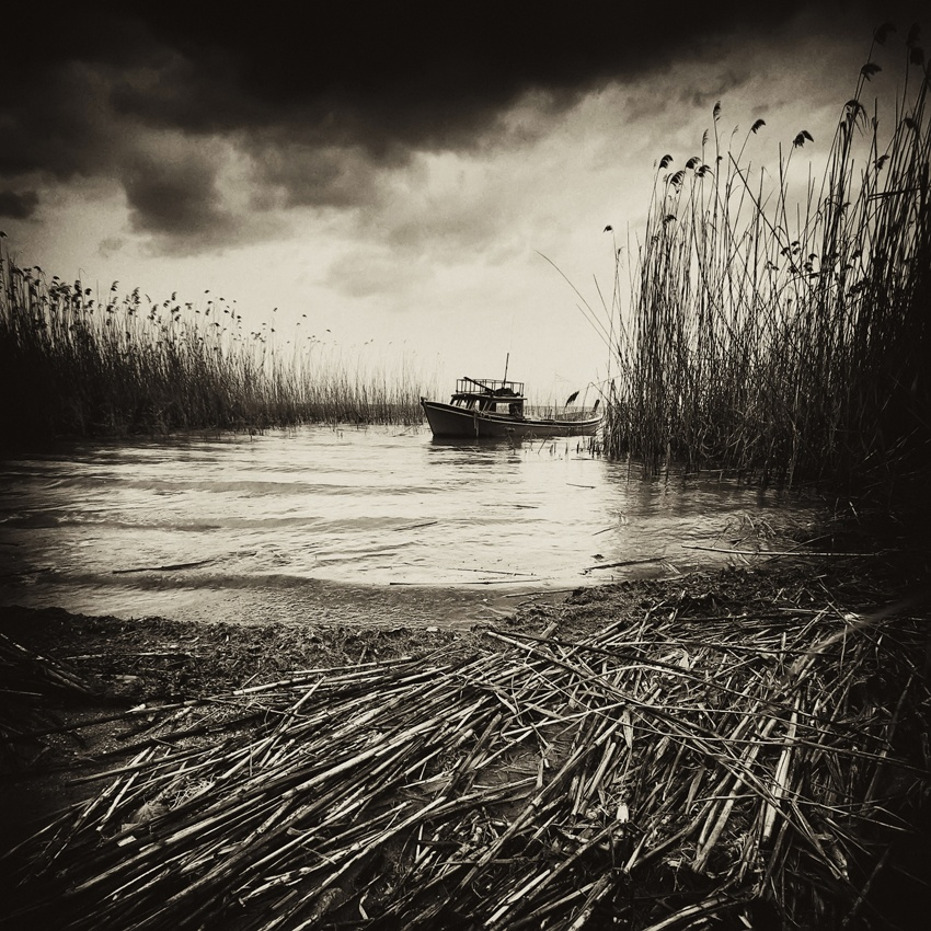 A piece of fine art art photography titled Dream Is Over by Galip Cetiner