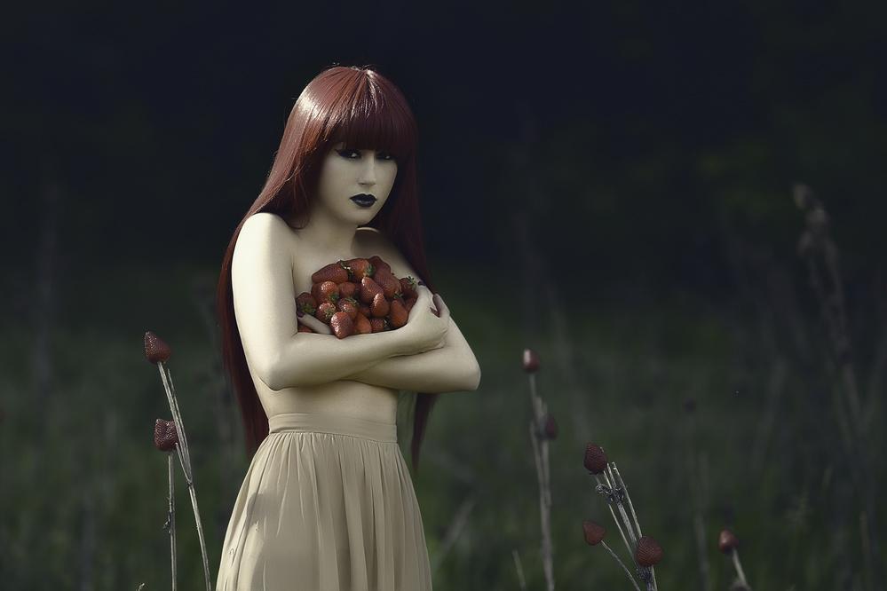 A piece of fine art art photography titled Self by alexandra fira