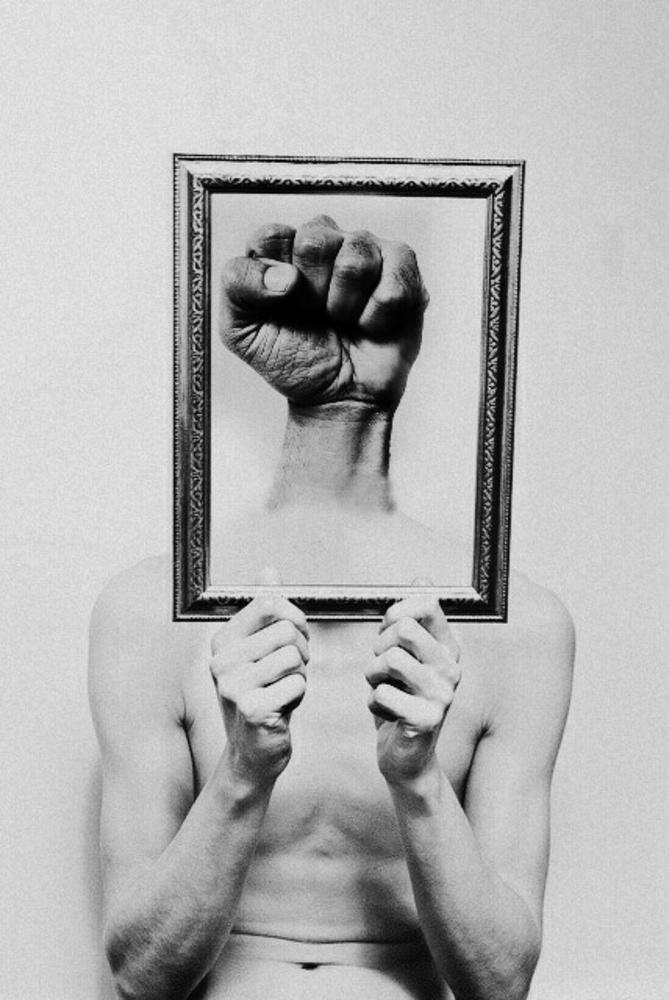 A piece of fine art art photography titled Fist by Hadi Malijani