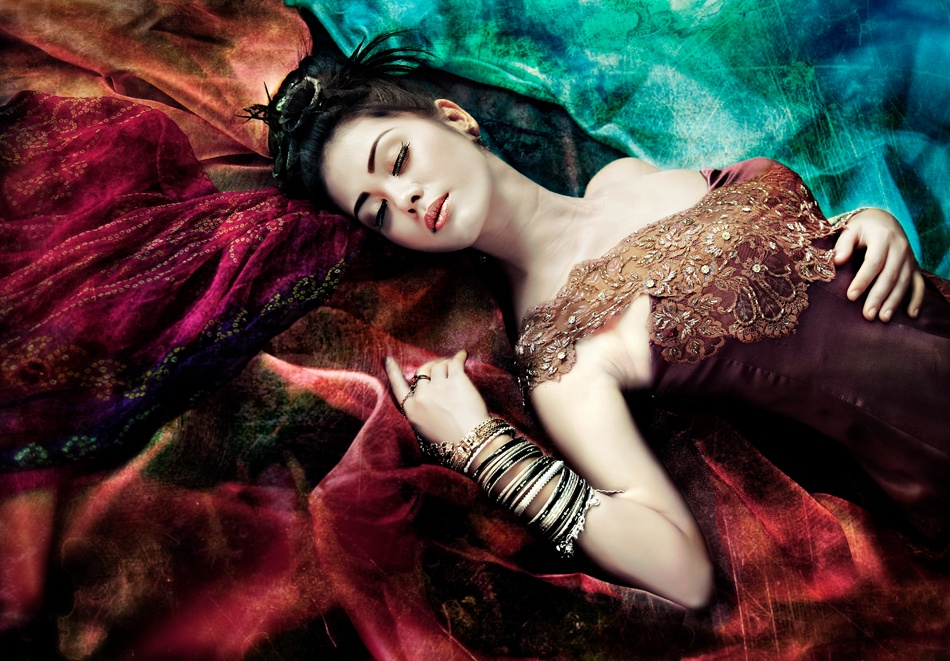 A piece of fine art art photography titled Sleeping Beauty by Ario Wibisono