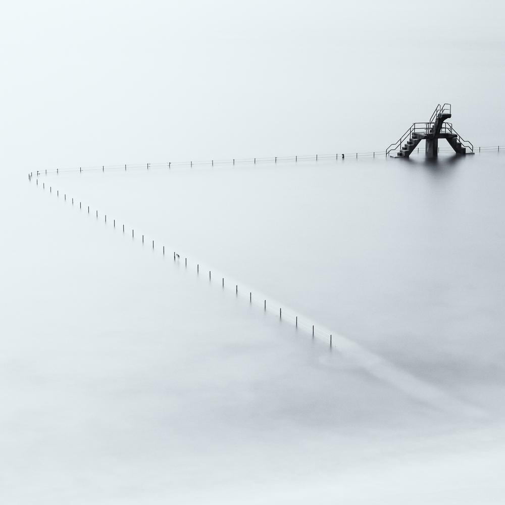 A piece of fine art art photography titled Giraffe by Jean-Marc Aloy