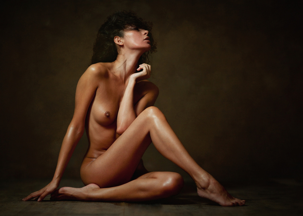 A piece of fine art art photography titled Katrin by Zachar Rise