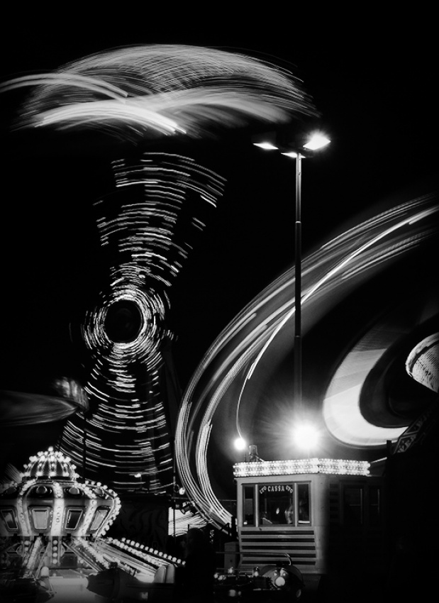 A piece of fine art art photography titled Luna Park by Branislav Fabijanic