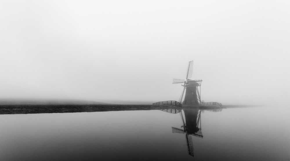 A piece of fine art art photography titled Mythic Mill by Ferdinand Mul