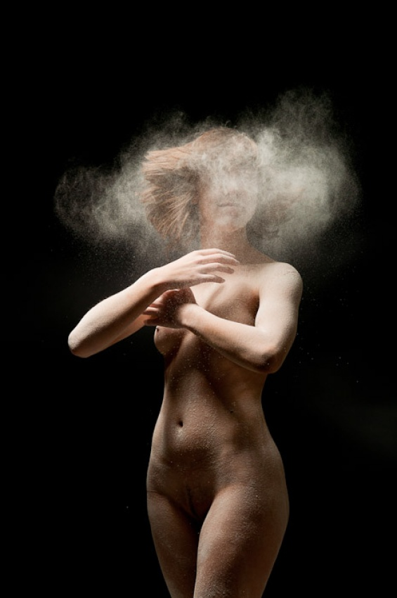 A piece of fine art art photography titled Lost In the Head by Ivano Coltellacci
